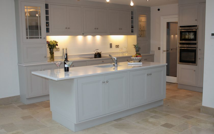 casey kitchen with island unit