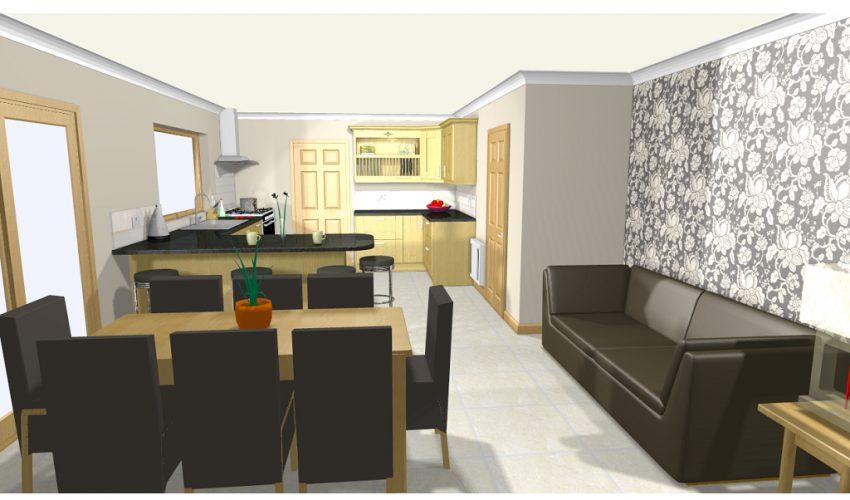 """Cad Design """"Woodcraft kitchens"""""""